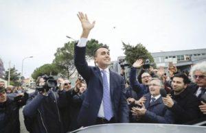 """Di Maio, M5s: """"Noi vincitori, pronti al confronto con tutte le forze politiche"""""""