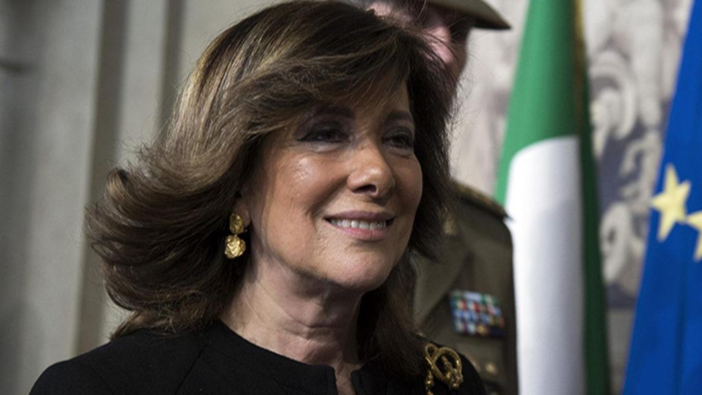Maria Elisabetta Alberti, coniugata Casellati, è una politica italiana, dal 24 marzo 2018 presidente del Senato della Repubblica nella XVIII legislatura.